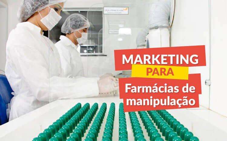 marketing para farmacia de maniulação